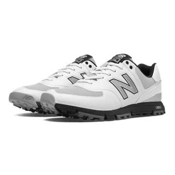 New Balance New Balance Golf 574, White with Grey