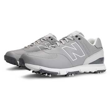 New Balance New Balance Golf Leather 574, Grey with White