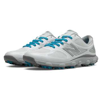 New Balance Minimus Golf 1001, White with Silver