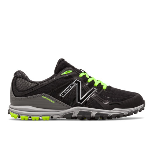 Minimus Golf 1005 Women's Golf Shoes - Black/Green/Grey (NBGW1005B)