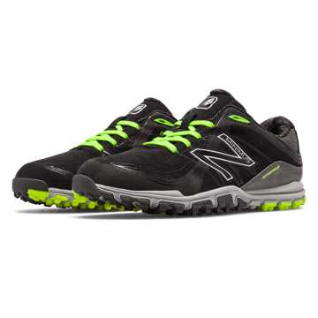 New Balance Minimus Golf 1005, Black with Lime & Grey