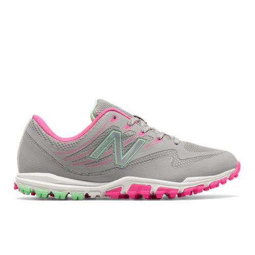 Minimus Golf 1006 Women's Golf Shoes - Grey/Pink/Green (NBGW1006G)