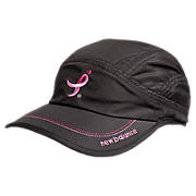Komen Cap, Black with Pink