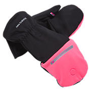 Competitor Glo-Mitt, Black with Pink