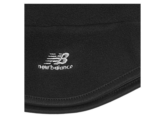 Microfleece Hat, Black