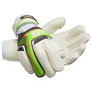 Furon Negative Cut Glove, White with Green & Alpha Pink