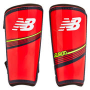 New Balance Furon Dispatch Shin Guards 2016, Bright Cherry