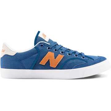New Balance Pro Court 212, Royal Blue with Orange & White
