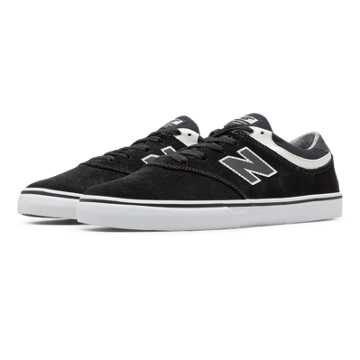New Balance Quincy 254, Black with White