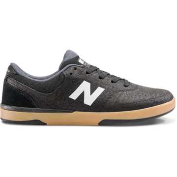 New Balance PJ Stratford 533, Black with White & Gum