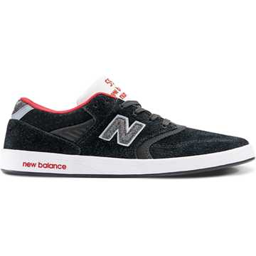 New Balance 598 Black Sheep, Black with Red & White
