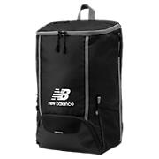 Team Ball Backpack, Black with White