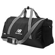 Team Large Holdall Bag, Black with White