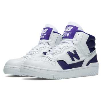 New Balance 740 Worthy, White with Purple