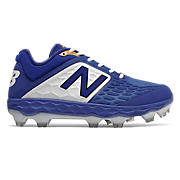 Low-Cut 3000v4 TPU Molded Cleat , Royal Blue with White