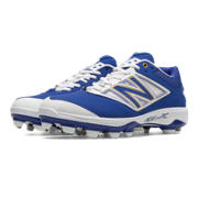 Low Cut 4040v3 TPU Molded Cleat, Royal Blue with White