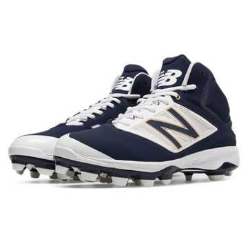 New Balance Mid-Cut 4040v3 TPU Molded Cleat, Navy