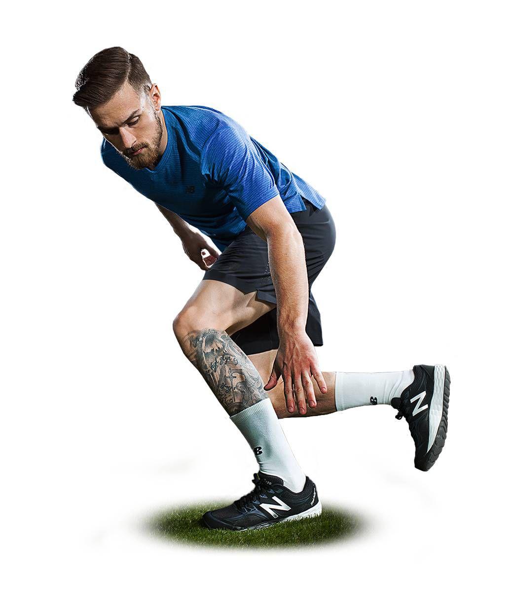 New Balance Mens Soccer Hub Train Hard Look,