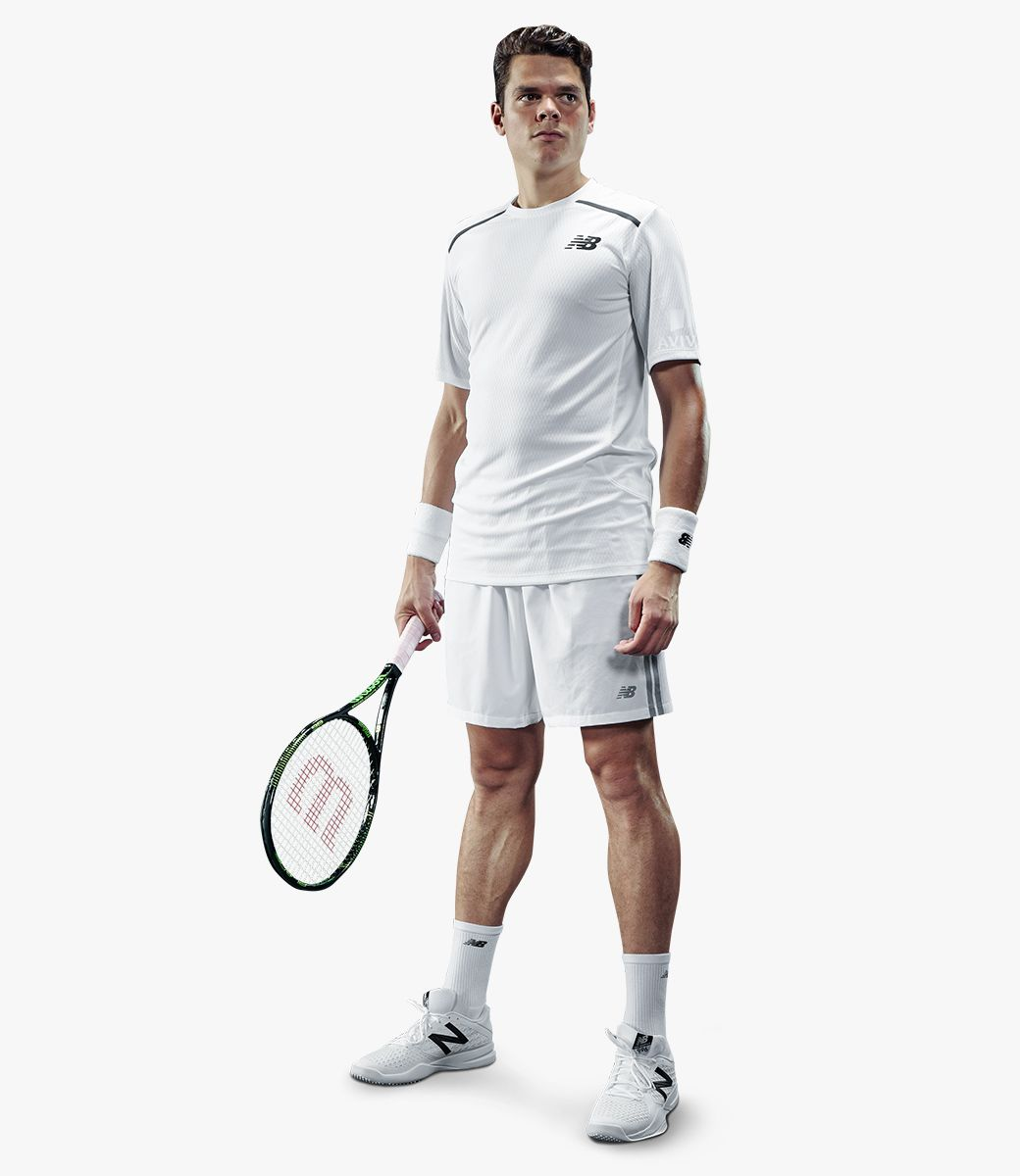New Balance Mens Court White Look,