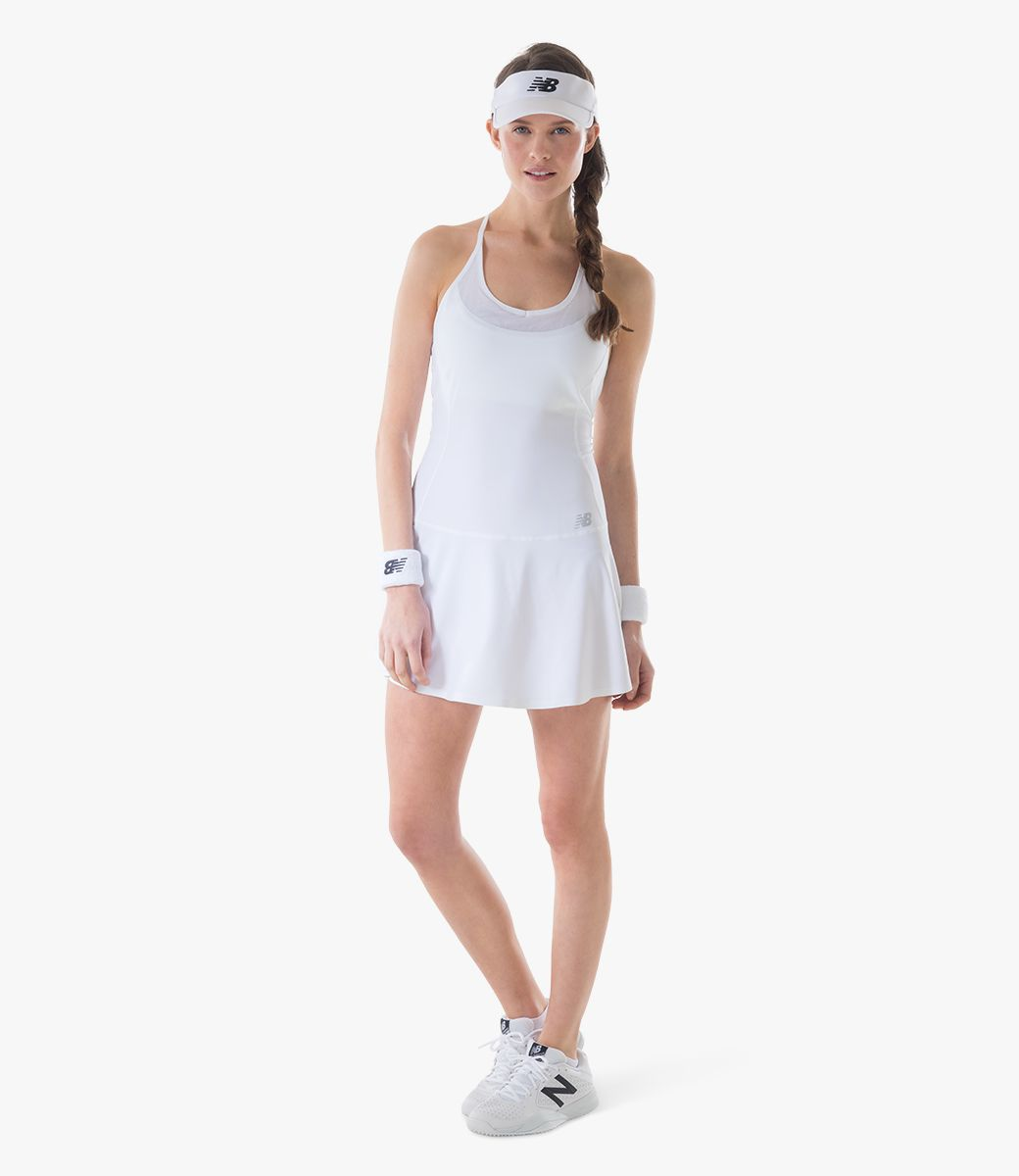 New Balance Womens Court White Look,