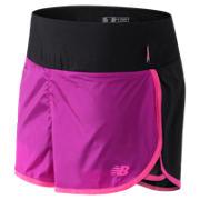 New Balance Pink Ribbon 2 in 1 Short, Black