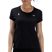 Pink Ribbon Tech Tee, Black