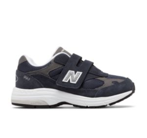 뉴발란스 993v1 벨크로 리틀키즈(남녀공용) 네이비 New Balance Kid's 993v1,Navy