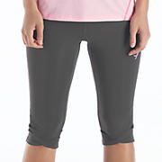 Ultimate Knee Capri, Magnet with Magenta