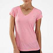 Komen Heather Short Sleeve, Cotton Candy with Pink Glo