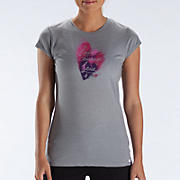 LU Heart Tee, Athletic Grey