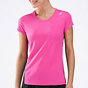 Komen Go 2 Short Sleeve Tee, Pink Glo with Black
