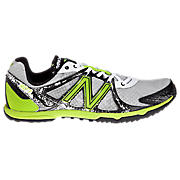 New Balance 507, White with Lime Green & Black