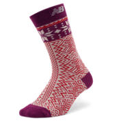 New Balance Snowflake Socks, Mulberry