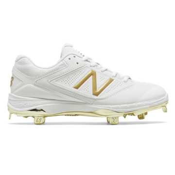 Women's Low-Cut 4040v1 Gold, White with Gold