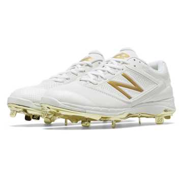 New Balance Low Cut 4040v1 Gold, White with Gold