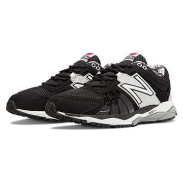 New Balance Turf 1000v2, Black with Silver