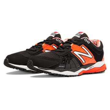 New Balance Turf 1000v2, Black with Orange