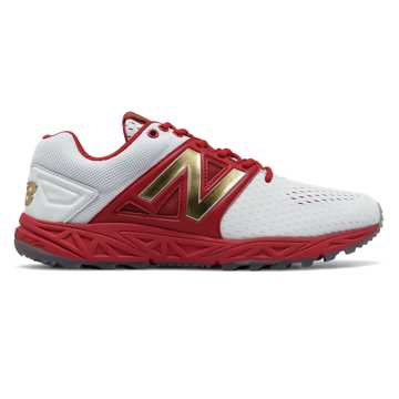 New Balance Turf 3000v3 Playoff Pack, Red with White