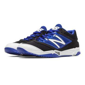 New Balance Turf 4040v3 Synthetic Mesh, Black with Blue