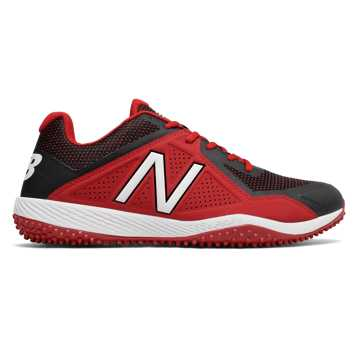4040v4 Turf, Black with Red