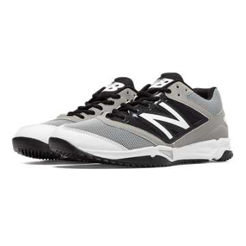 New Balance Turf 4040v3 Synthetic Mesh, Grey with Black