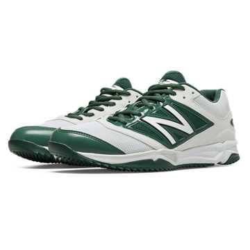 New Balance Turf 4040v3 Synthetic Mesh, White with Green