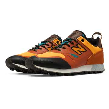 New Balance Trailbuster Re-Engineered, Pumpkin with Chromatic Yellow & Dark Cyan