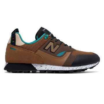 New Balance Trailbuster Re-Engineered Textile, Tan with Teal