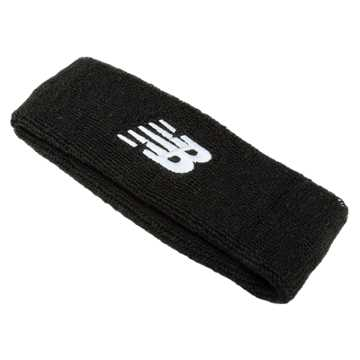 New Balance New Balance Terry Head Bands, Black
