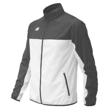 Men's Athletics Warmup Jacket, Asphalt