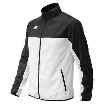 Men's Athletics Warmup Jacket, Black