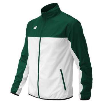 Men's Athletics Warmup Jacket, Dark Green