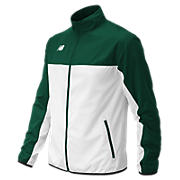 Men's Athletics Warmup Jacket, Dark Green