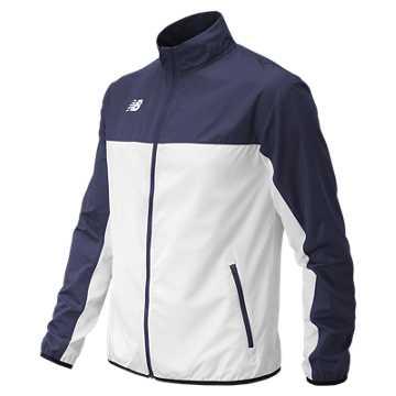 Men's Athletics Warmup Jacket, Team Navy